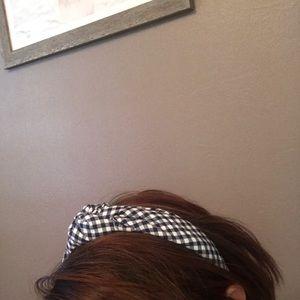 JCREW bandana headband- Retro/Pin-up